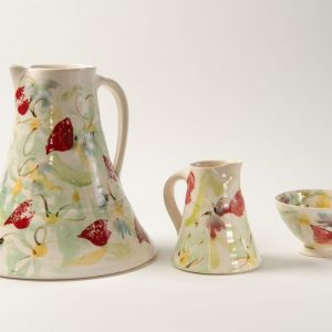 Meadow Jugs and Bowl