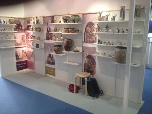 Stand of Robs work at Olympia