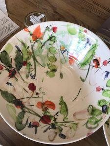 Pea Pods, Nasturtium and Radish Design