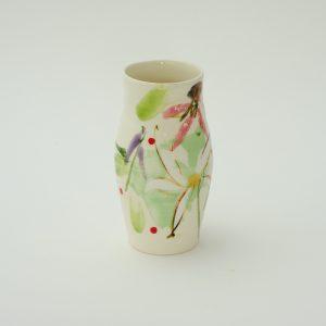Tall Vase Summer Flowers