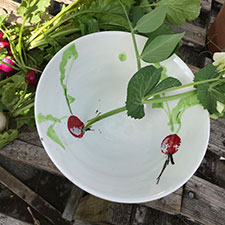 Radish Bowl - Vicky Whelpton